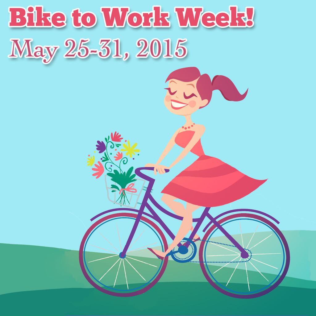 It's Bike to Work Week!