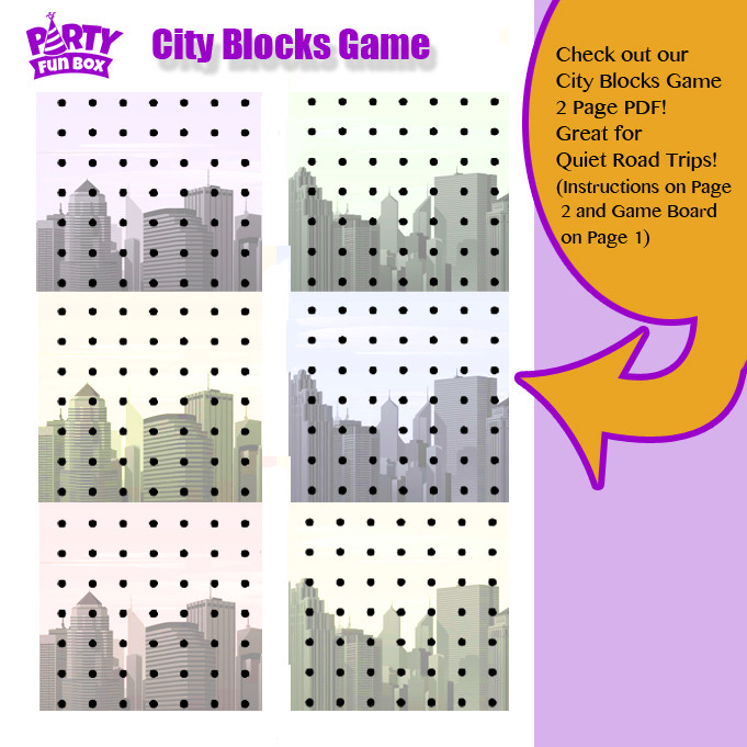 City Blocks Game