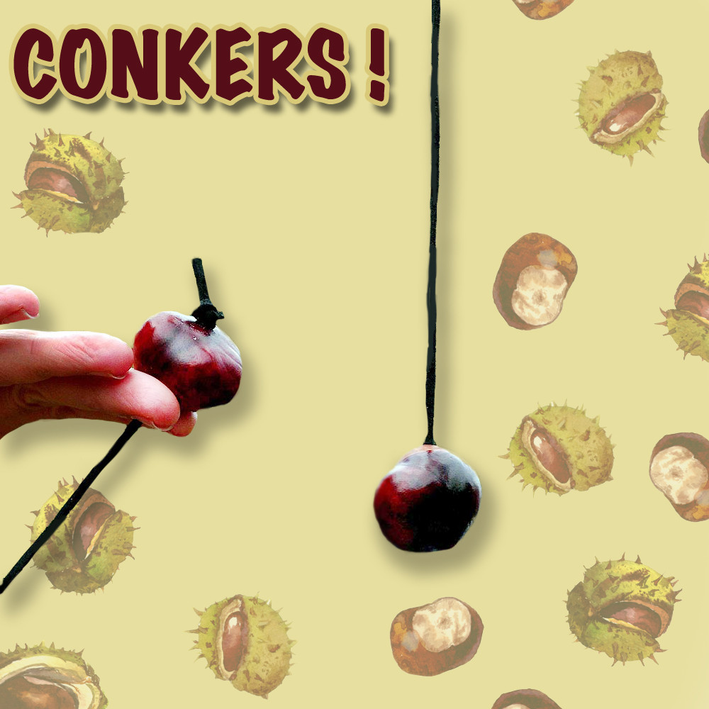 A Great Fall Game … Conkers!