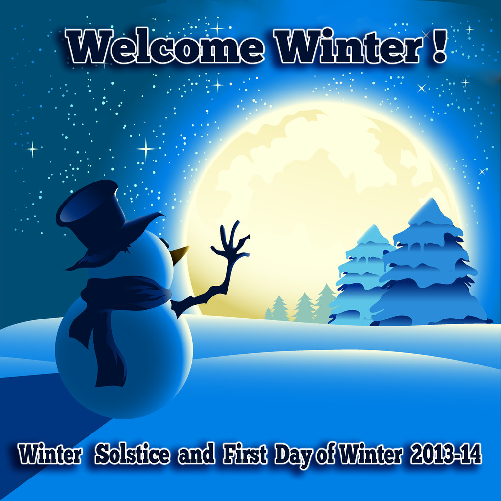 Winter Solstice And First Day Of Winter Party Fun Box